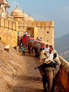 Amer Fort Jaipur, India - Explore the World with Travel Nerd Nici, one Country at a Time. Places Around The World, Oh The Places You'll Go, Places To Travel, Places To Visit, Around The Worlds, Tourist Places, Rajasthan Inde, Jaipur India, Delhi India
