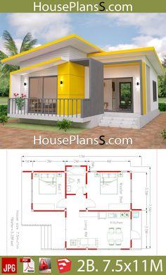 Mi casa Sims House Plans, Beach House Plans, House Layout Plans, Small House Plans, House Layouts, House Floor Plans, Bungalow Haus Design, Modern Bungalow House, Small House Design