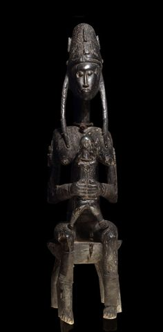 A fragmentary Bamana Gwandusu sculpture,