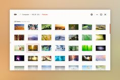 Windows Desktop UI Concept - Explorer