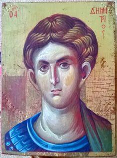 Soldiers, Fresco, Saints