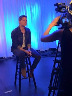 Doing an interview for @rollingstone online show #encore keep an eye out for it!