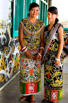 Borneo Island Costume - Indonesia