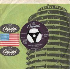 WANDA JACKSON Leave My Baby Alone 1964 German by Beats45Records
