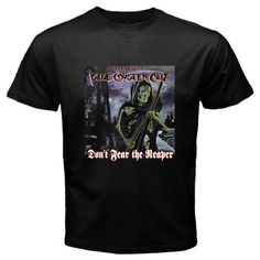 2017 Newest Men Fashion  Boc Blue Oyster Cult *Don'T Fear The Reaper  Printed Men'S Fashion T Shirt Hipster Tops Fashion Tees #Affiliate