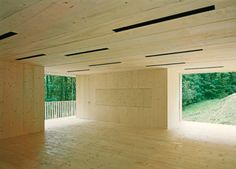 openhouse : a country box : architecture : Trublerhütte : Rossetti + Wyss Architekten : switzerland