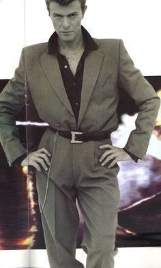 ...wearing the sharpest suit