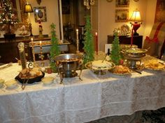 elegant reception | Buffet Receptions | Affordable, Functional, and Elegant} || The Pink ...