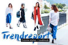 Culottes stylen: Outfits und Styling Tricks + die besten Shopping Tipps
