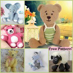 diy4ever 6 Cute Crochet Amigurumi Animal Free Patterns f2 - 6 Crochet Amigurumi Animal Free Patterns
