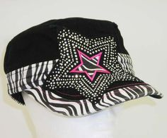 Western Cap - $15. Also in pink or camo!