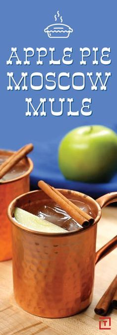 Here's How to Make an Apple Pie Moscow Mule Recipe - Thrillist