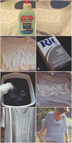 Easy DIY Watermark T-Shirt – DIY & Crafts