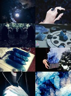 Witch Aesthetics // Blue Witch