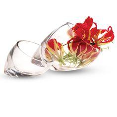 Sideways vases