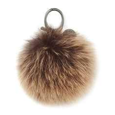 Rebecca Minkoff Multi Fur Pom Pom (2,375 PHP) ❤ liked on Polyvore featuring bags, handbags, shoulder bags, accessories, bag accessories, brown, pom pom bag, rebecca minkoff, rebecca minkoff bags and fur handbags