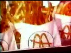 McDonald's - School kids altered the lyrics to this one! I think it's funny how they make the food out to be healthy. How far we've come.