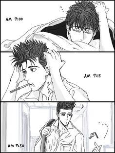 Slam Dunk Manga, New Series To Watch, Netflix Original Anime, Anime Villians, Dotted Drawings, Anime Recommendations, Haikyuu Manga, Kuroko's Basketball, Manga Illustration