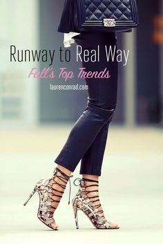 Runway to Real Way: The Fall Trend Guide {photo via @fashionedchic }