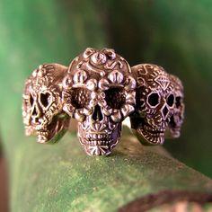Sugar Skull Ring | The Calavera Company