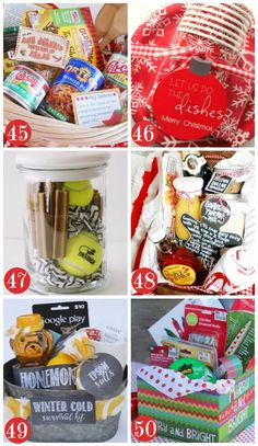 More Christmas Gift Baskets for Families