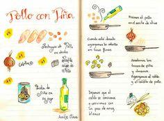 Pollo con Piña fácil y sencillo - Rabid Tutorial and Ideas Veg Recipes, Mexican Food Recipes, Comida Diy, Tapas, Pollo Chicken, Peruvian Recipes, Exotic Food, Happy Foods, Meat Chickens