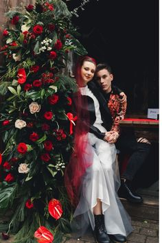 Alternative and Relaxed Rock Wedding at The Greyhound Hotel, London, with red bridal veil. patterned grrom suits and non-tradtional wedding dress. Wedding Show, Wedding Day, Sustainable Wedding, London Photographer, Flower Company, Twist And Shout, Alternative Wedding, Simple Dresses