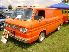 1962 Chevy Corvair Van