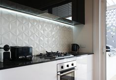 The kitchen splashback is a great place to inject some personality into the room without overpowering the space. At Tile Space we have 100's of creative and eye catching tiles, such as marble mosaics, hexagon shapes, subway tiles, custom Bisazza mosaics and many more. Have a look at just a few of our favourite ideas in the gallery above! Visit your nearest Tile Space store to talk to one of our expert design consultants about how to make a great kitchen splashback for your ...