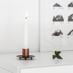 Design inspired candle holders which you can make in less than 5 minutes, see how!