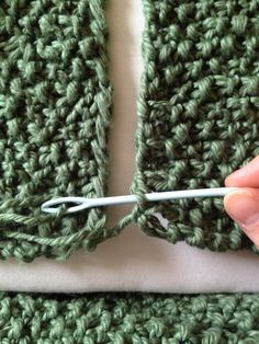 tinselmint: FINISHING OFF: HOW TO COMPLETE YOUR INFINITY SCARF