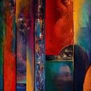 Jaanika Talts - Estonian art - Estonia and Dublin, Ireland Abstract Art Painting, Art Painting, Pastel Art, Painting, Fairy Artwork, Irish Art, Abstract, Art Inspiration, Art Pages