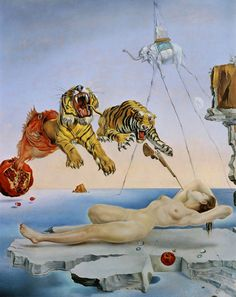 Flight of a Bee by Salvadore Dali