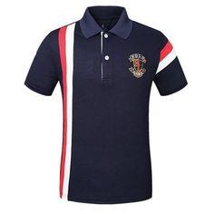 2018 New Famous Brand Fashion Polo Shirt Men Polos Hombre Camiseta Pol – heavengif Sports Polo Shirts, Polo Shirt Brands, Mens Polo T Shirts, Mens Shirts Online, Slim Fit Polo Shirts, Sports Sweatshirts, Golf Shirts, Shirt Men, Moda Polo