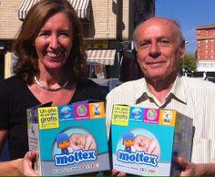Colaborando con RED MADRE: donamos 60 cajas con productos de higiene para el bebé