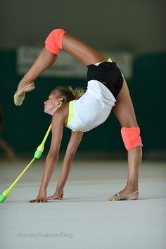 Aleksandra Soldatova (Russia) training July 2015 #rhythmic_gymnastics
