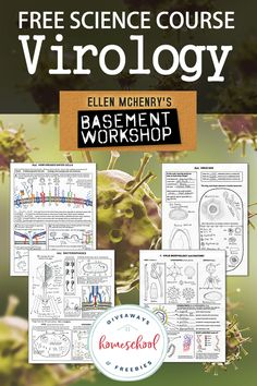 Virology is targeted to middle and high school and it can even be used by students who have not yet studied cell biology at the high school level. Science Curriculum, Science Resources, Homeschool Curriculum, Teaching Science, Science Activities, Homeschooling, Science Classroom, Science Education, Science Projects