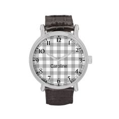 >>>Cheap Price Guarantee          Timeless Grey Gingham Pattern With Custom Name Wristwatches           Timeless Grey Gingham Pattern With Custom Name Wristwatches We provide you all shopping site and all informations in our go to store link. You will see low prices onShopping          Time...Cleck Hot Deals >>> http://www.zazzle.com/timeless_grey_gingham_pattern_with_custom_name_watch-256309789662166195?rf=238627982471231924&zbar=1&tc=terrest