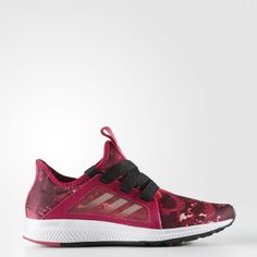 adidas, Edge Lux Shoes in Bold Pink/Black, $85