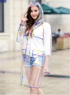 Rain coat Outfit Formal - Rain coat For Women Long - Rain coat Mens Trench - Raincoat Outfit, Mens Raincoat, Pvc Raincoat, Vinyl Raincoat, Stylish Raincoats, Raincoats For Women, Diva Fashion, Editorial Fashion, Transparent Raincoat