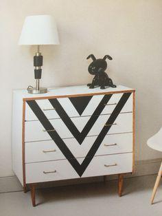 Peindre une commode sur pinterest peindre des meubles et for Peindre une commode