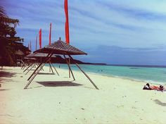 White Sand Beach. Anda, Bohol Bohol, Beautiful Places In The World, White Sand Beach, Patio, Outdoor Decor, Travel, Viajes, Destinations, Traveling
