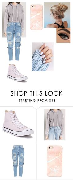 """""""Untitled #18"""" by dessyhart on Polyvore featuring Converse and Love 21"""