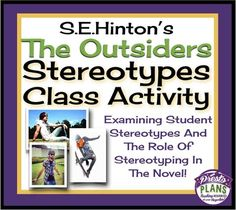 stereotypes the outsiders essay Stereotypes play a large role in the outsiders  write a two-paragraph essay  discussing the meaning of robert frost's poem and its relationship to ponyboy's .