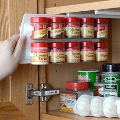 Found it at Wayfair - 20 Clip Cabinet Spice Organizer