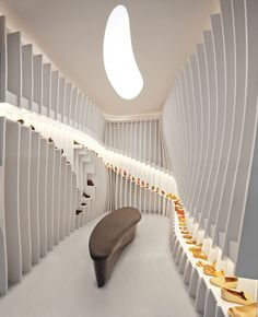 Importance of Walking store in Beijing by Praxis d'Architecture