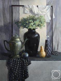 Julija Nepokrytaja, Still Life with Black Vase Natural Stills, Fruits Drawing, Oil Painting Texture, Fruit Picture, Still Life Fruit, Still Life Drawing, Academic Art, Black Vase, Still Life Photos