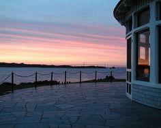 A beautiful Rhode Island sunset