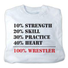 Worldwide Sport Supply 100% Wrestler T-Shirt