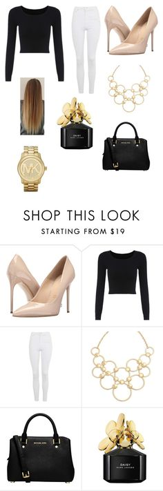 """""""Untitled #113"""" by sadiecoda on Polyvore featuring Massimo Matteo, Topshop, Vera Bradley, MICHAEL Michael Kors, Marc Jacobs and Michael Kors"""